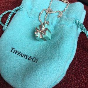 Authentic Tiffany & Co. Tiffany Blue Box Necklace